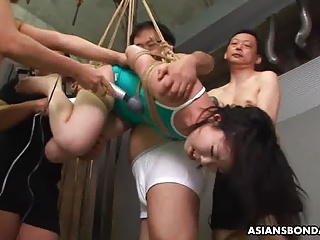 asian debauchery or as she gets toyed by the boys