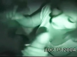 Lusty girl enjoys threesome sex, vintage video