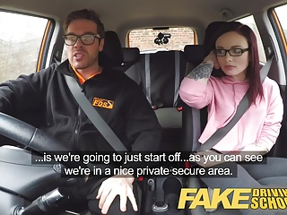 Sex driving school or 19yr petite american student creampie and anal